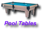 3.5' x 7', 4' x 8', 4.5' x 9 Pool Tables? We have them all !